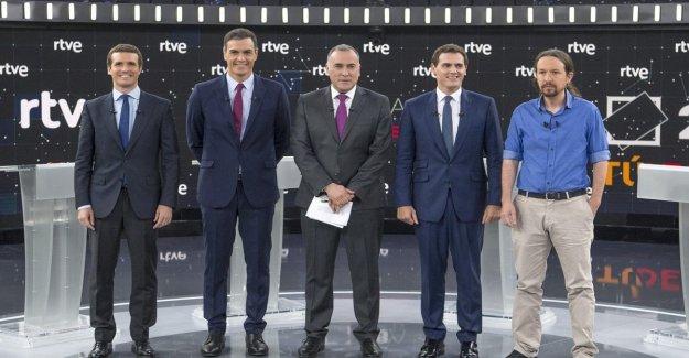 Cataluña y la economía, el choque en la televisión entre los líderes de los españoles en vista de la votación