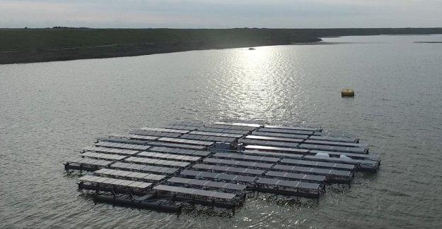 El archipiélago que captura la energía del Sol. Se encuentra en el mar de Holanda