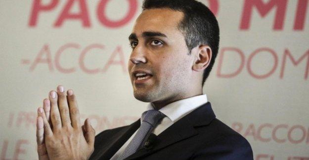 El caso de los Rayos, Di Maio: La Liga habla de Roma cuando está en dificultades. En sus encuestas que sería
