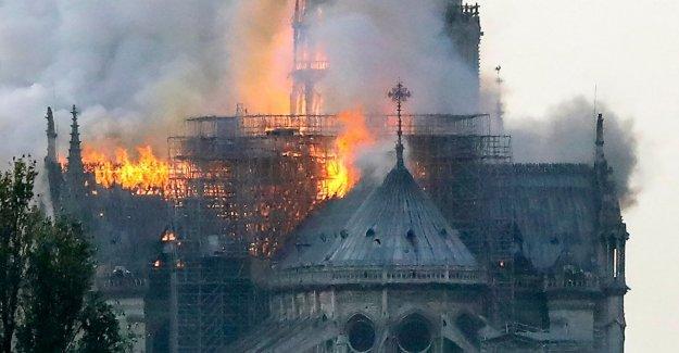 El fuego de la catedral de Notre-Dame, la compañía admite: Los trabajadores se encontraban en el andamio