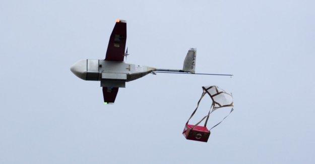 En Ghana, los medicamentos vienen con el drone