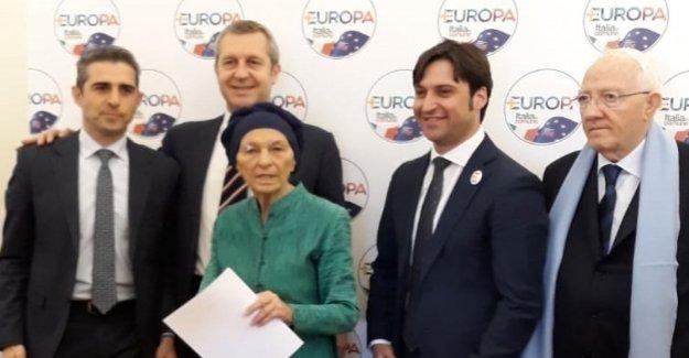 +Europa, entre el capilista Bonino, Pizzarotti y a La Viuda. La polémica con la Dp en la opción votar