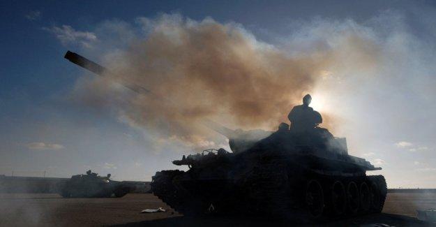 Libia, Que: 121 muertos y 561 heridos. La televisión libia: 100 víctimas entre los soldados de Haftar