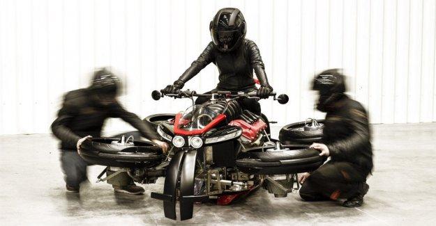 Motocicleta voladora, del sueño a la realidad