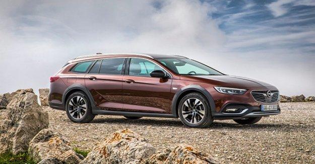 Opel Insignia Country Tourer, encanto, off-road