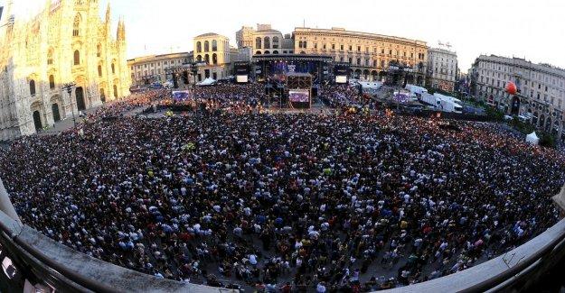 Radio Italia en Vivo, concierto de Sting en la piazza Duomo. En el escenario también Bertè, por Último, Mengoni, y la Esfera Ebbasta