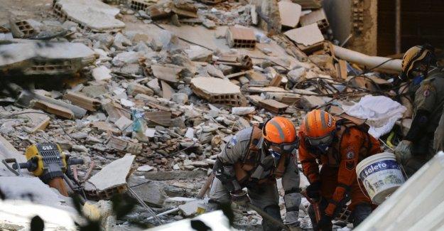 Río de Janeiro, nueve muertes desde el colapso en una favela.