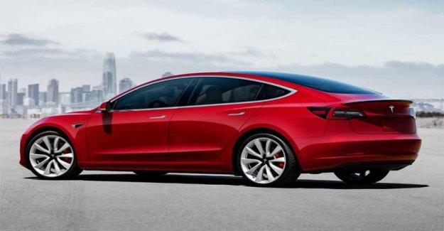 Tesla, el Modelo 3 se hace ahora más asequible