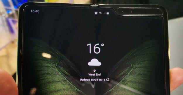 Viene Galaxy Veces, el primer smartphone plegable: nuestra prueba