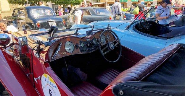 De vuelta para el Trofeo de coches de época, 'La Dolce Vita'