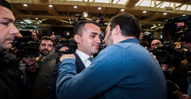 Di Maio a Salvini: el Aumento de los salarios no es la propagación, la Liga va a responder