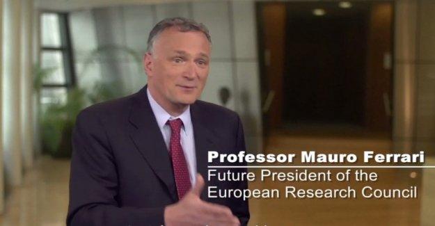 El Consejo Europeo de Investigación, Mauro Ferrari será el nuevo presidente