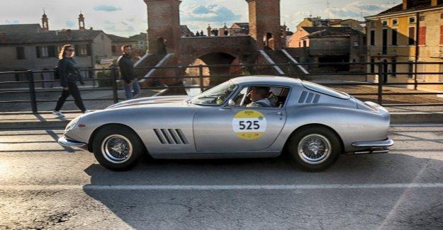 En la Mille Miglia con el nuevo Ferrari Portofino