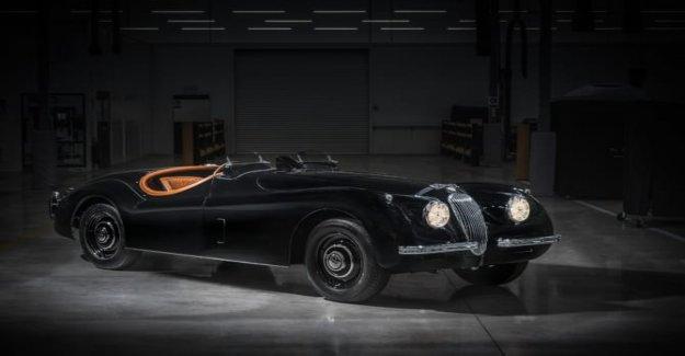 Jaguar, 2700 horas para restaurar un XK120
