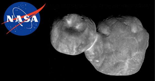 Nuevos Horizontes, que un encuentro cercano con un fósiles del Sistema Solar