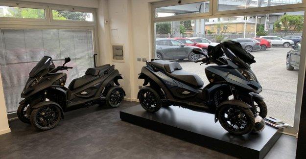 Quadro Vehículos de la Tienda, la movilidad del futuro llega a Roma