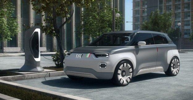 Y el Fiat Concepto de ciento Veinte a cabo en el abierto