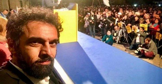 Y el porno selfie de Giarrusso termina en la red