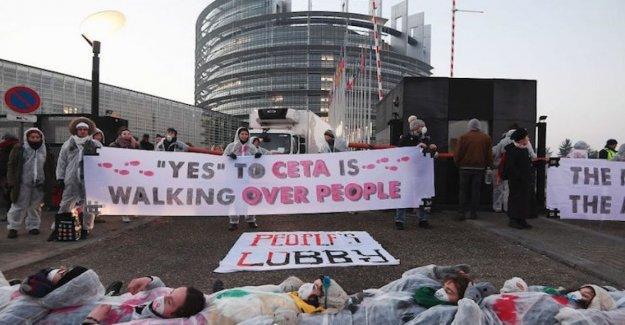 Acuerdo de comercio CETA: el vestíbulo de la agencia canadiense de la agroindustria ataque de Italia y de imponer las reglas de