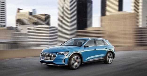 Audi, el primer recuerdo en los estados Unidos para el E-tron