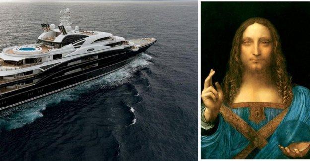 El Salvator Mundi de Leonardo sería en el yate por el heredero al trono de Arabia Saudita