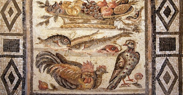 En la antigua Roma, una dieta que es rica, incluso para los estibadores