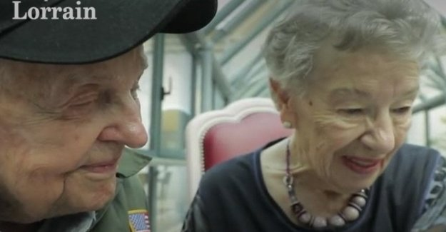 Francia: separados por la guerra, se reúnen después de 75 años. La historia de amor de Jeanine y Kara