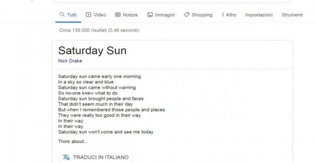 Google mostrará el origen de los textos de las canciones