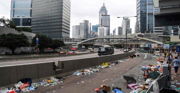 Hong Kong, el Parlamento, el debate aún no está en la agenda