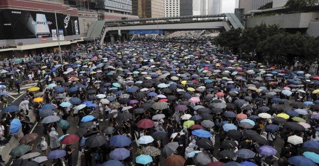 Hong Kong, la protesta contra la ley que permite la extradición de los sospechosos a China