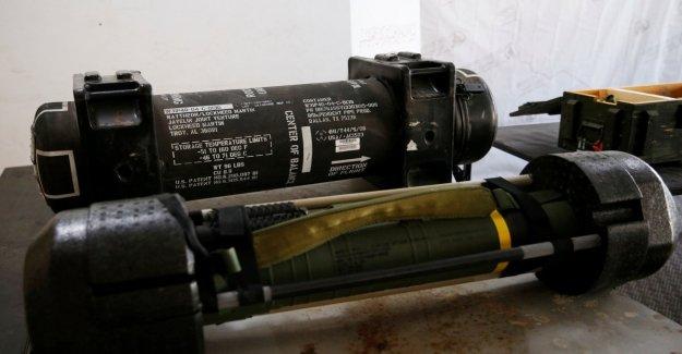 Libia, descubierto en Gharian estadounidense de misiles se han trasladado desde Emiratos árabes unidos a Haftar