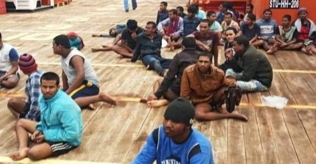 Los migrantes, cerrado el puerto de Zarzis: Túnez dice que no a la el arribo de las 75 personas salvadas en el mar