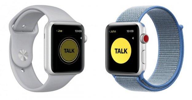 Apple desactiva Walkie Talkie en su smartwatch: problemas de seguridad