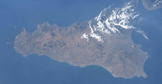 AstroLuca envía la primera postal de espacio Sicilia
