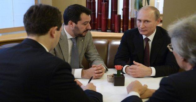 Ayuda a la Liga de Rusia, el Ep: Aclarar de inmediato. Pero Salvini niega: Demandado