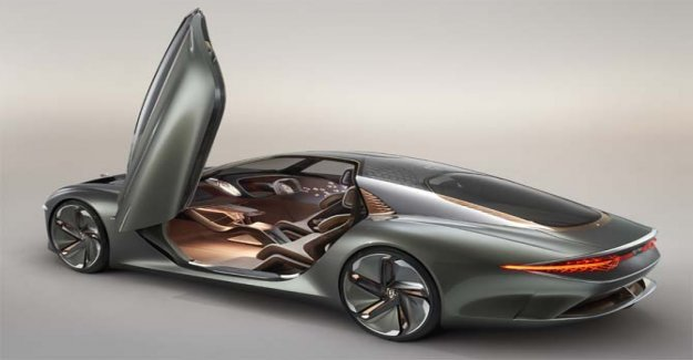 EXP 100 GT, la movilidad del futuro, de acuerdo a Bentley