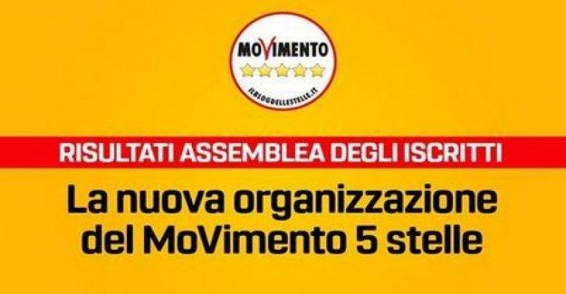 El M5S, en Rousseau gratis a la nueva organización y el mandato de cero (pero sí, yo soy sólo 17 mil)