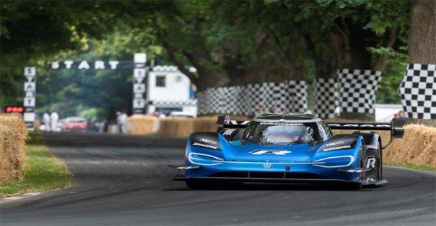 El Volkswagen ID.R más rápido que un Fórmula 1