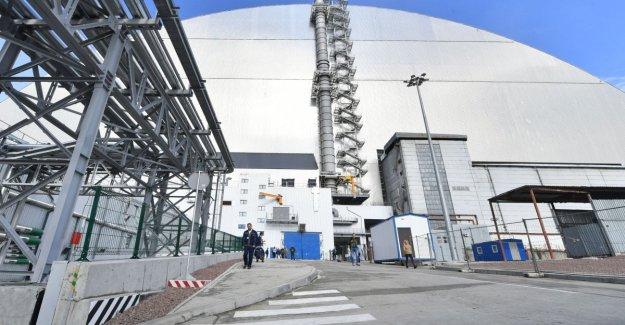 El accidente de chernóbil, la apertura de un nuevo escudo para el reactor