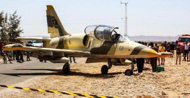 En libia, las fuerzas de Haftar ataque Medido con los aviones no tripulados