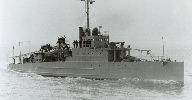 Estados unidos, se encuentra en un barco hundido en el final de la segunda guerra mundial por los nazis, y a 8 km de la costa de Maine