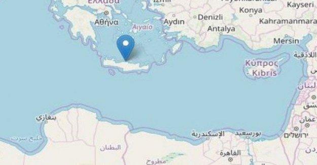 Grecia, un terremoto de magnitud 5,3 en Creta