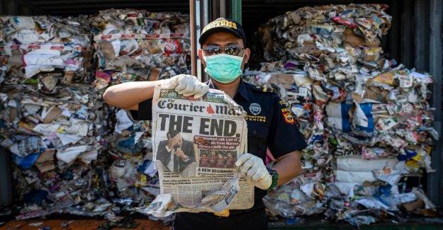 Indonesia envía 210 toneladas de residuos en Australia