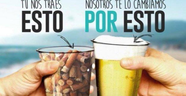 La cerveza, el café, e incluso la marihuana para cualquier persona que recoge el plástico y las colillas de los cigarrillos