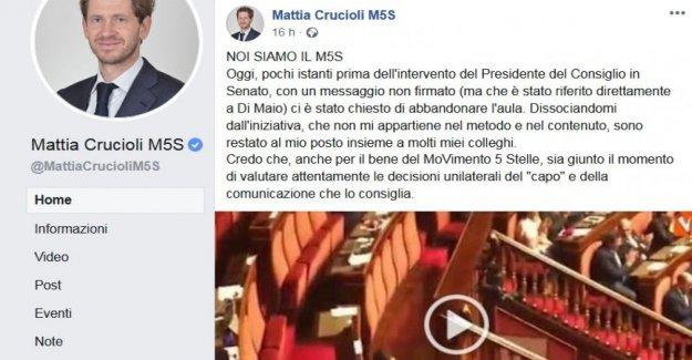 La revuelta de Crucioli contra Di Maio: se Ha hecho de las elecciones erróneas, no somos ovejas