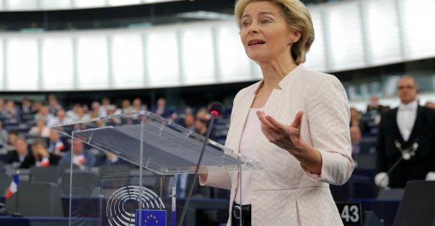 La ue Von der Leyen: Si Europa fuera una mujer sería Simone Veil