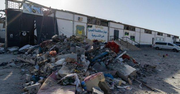 Libia, el gobierno es libre de 350 personas migrantes en el centro de refugiados bombardeado