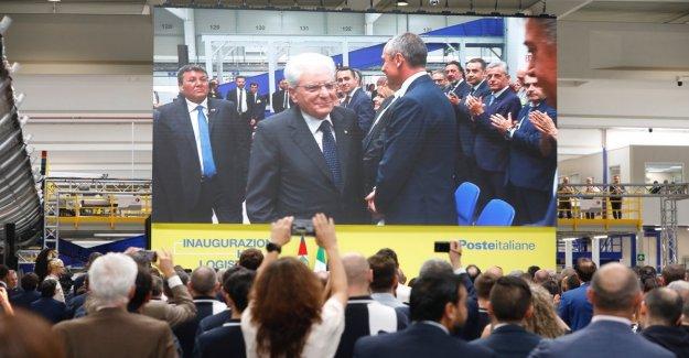 Mattarella a la interporto de Bolonia para la inauguración del nuevo hub de la oficina de correos