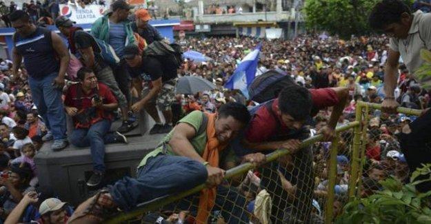 México, el País se transforma en un lugar seguro, junto con el Guatemale, para detener el flujo migratorio