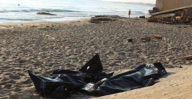 Naufragio en Libia: se recuperan en el mar los cuerpos de 62 personas